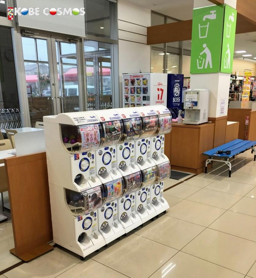 ヨシヅヤ 愛西勝幡店 ガチャガチャ設置 株式会社神戸コスモス