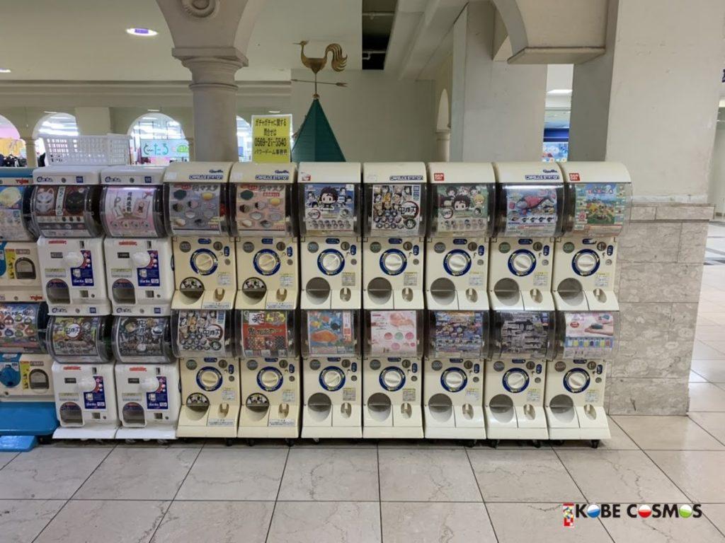 ガチャガチャ設置 ショッピングセンター パワードーム半田店